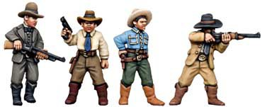 Copplestone Castings - Texas Rangers (Gangsters GN5)