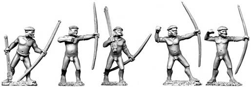 Copplestone Castings - Botocudo Indian Archers (C17)
