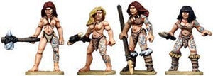 Copplestone Castings - Cavewomen (C12)
