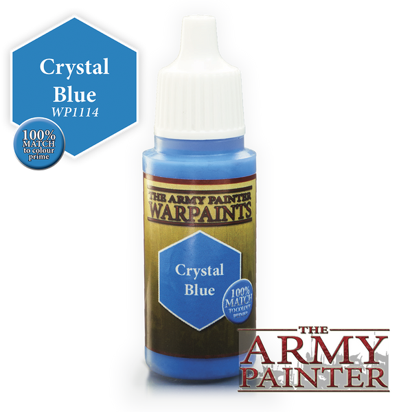 Army Painter Acrylic Warpaint - Crystal Blue