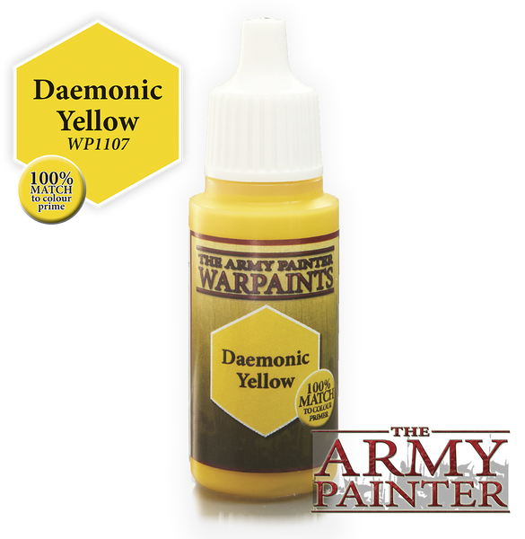 Army Painter Acrylic Warpaint - Daemonic Yellow