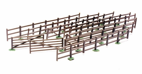Dapol C023 : Fences & Gates (8 Strips)