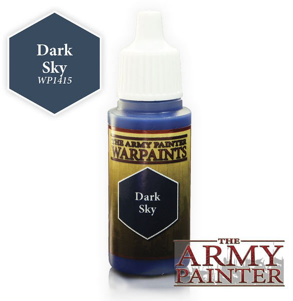 Army Painter Acrylic Warpaint - Dark Sky