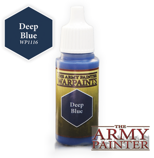 Army Painter Acrylic Warpaint - Deep Blue