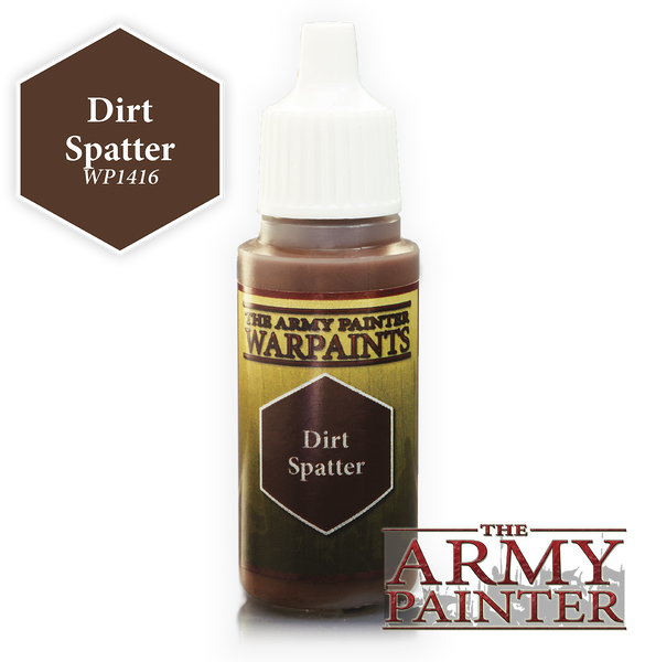Army Painter Acrylic Warpaint - Dirt Spatter