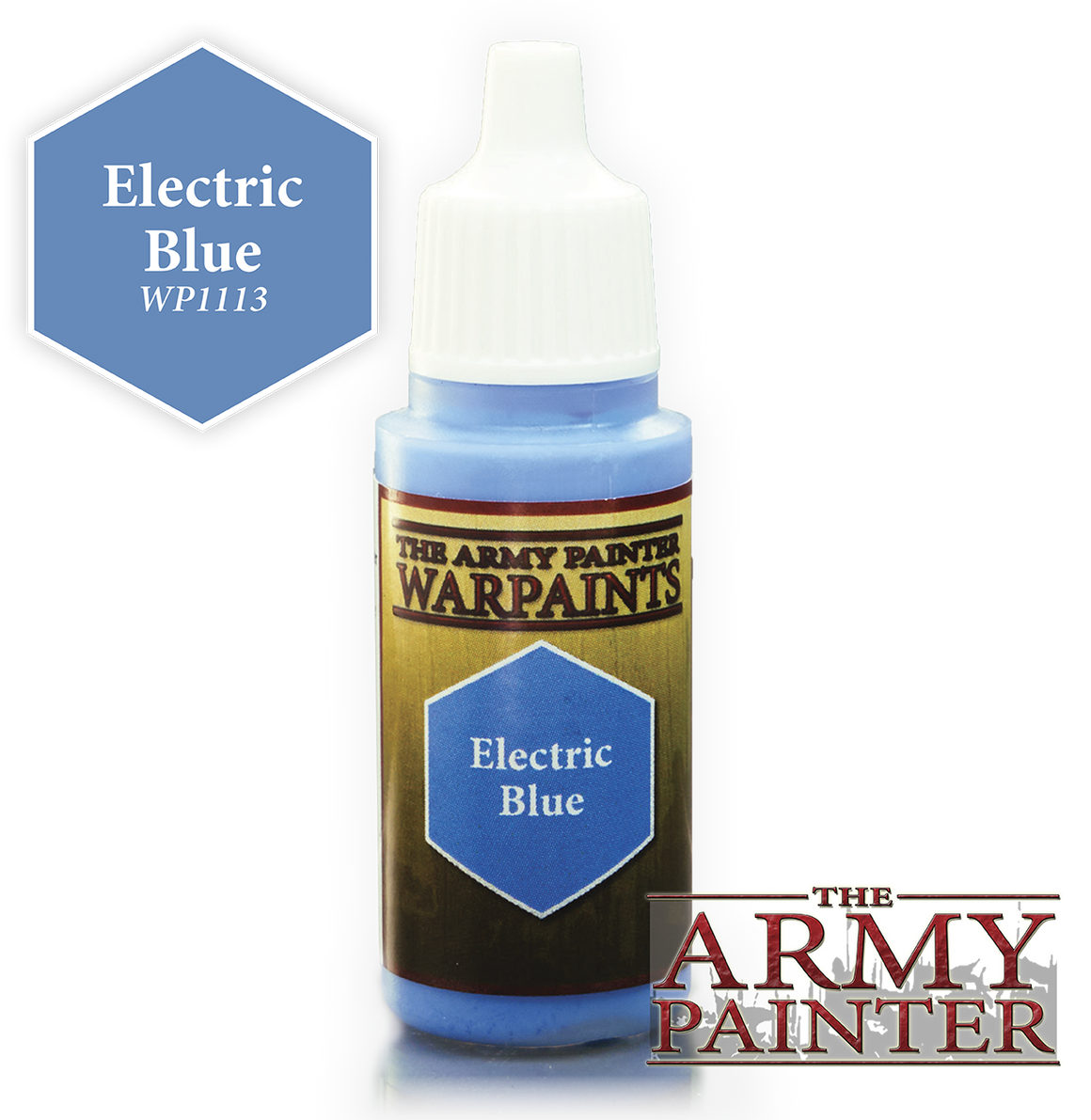 Army Painter Acrylic Warpaint - Electric Blue