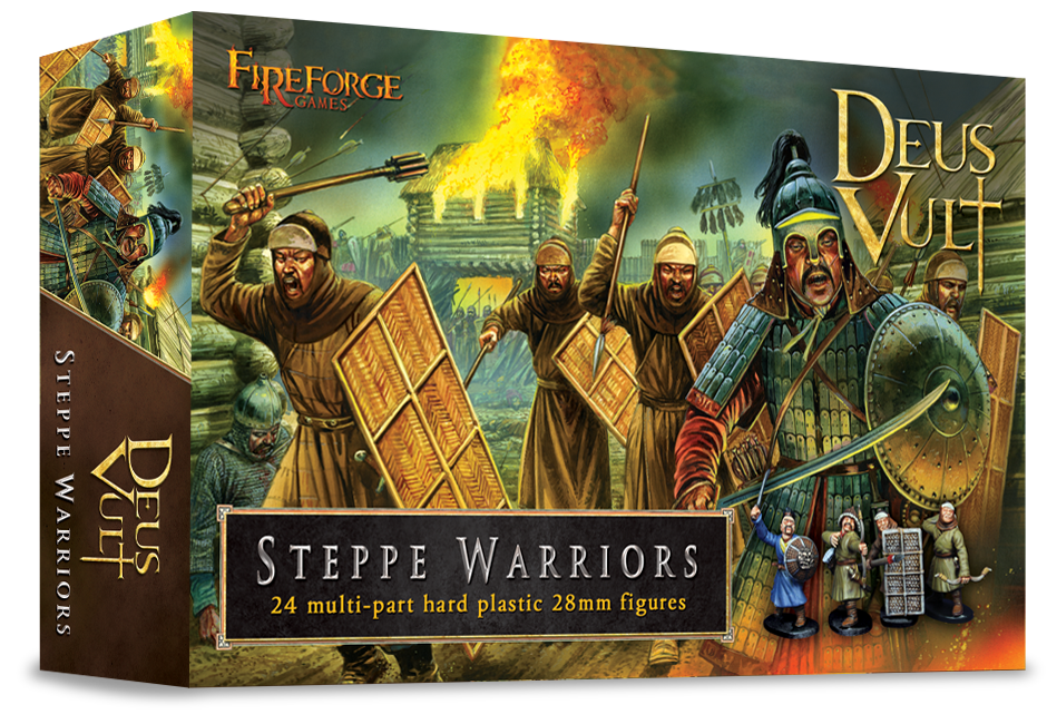 Deus Vult FFG008 Steppe Warriors