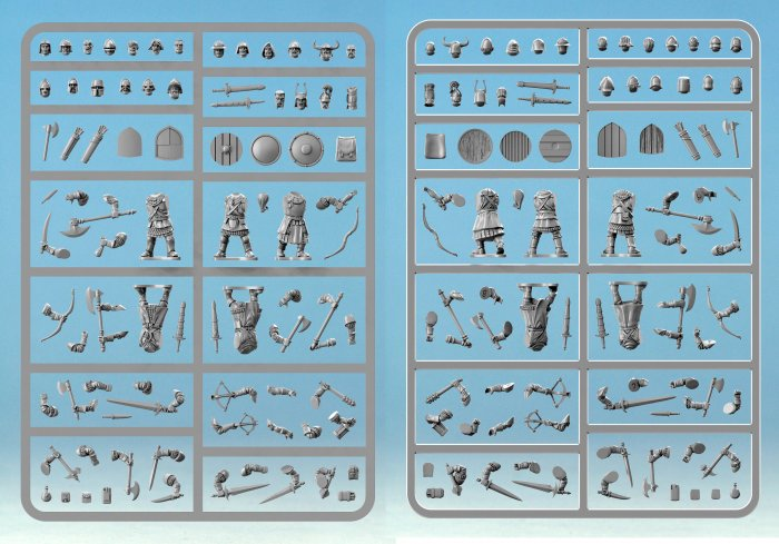 Frostgrave Knights Single Sprue