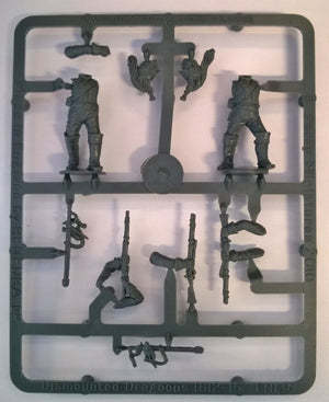 Perry Miniatures French Napoleonic Dismounted Line Dragoons Sprue