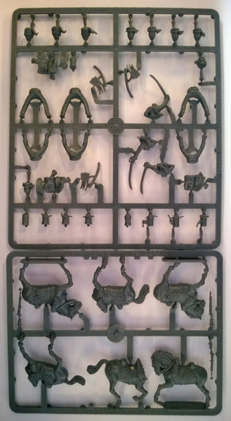 Perry Miniatures French Napoleonic Hussars Sprue