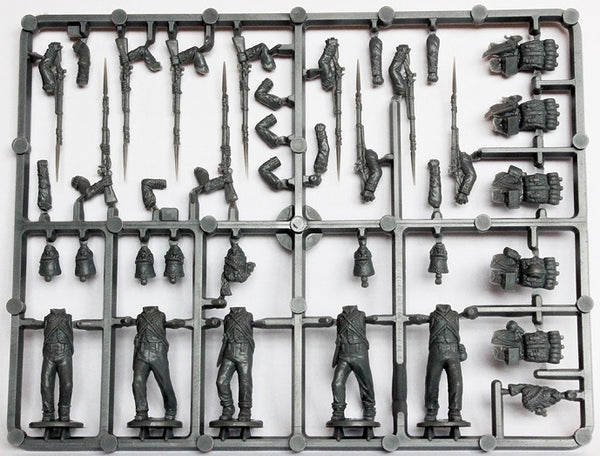 Perry Miniatures French Napoleonic Infantry Battalion Sprue 1807-14