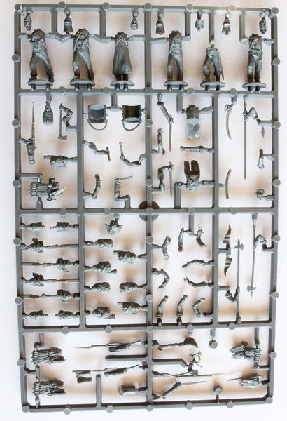 Perry Miniatures French Napoleonic Infantry Command Sprue 1807-14