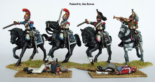 Perry Miniatures Plastic French Napoleonic Heavy Cavalry box set