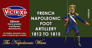VX0018 28mm Napoleonic French Artillery 1812 to 1815