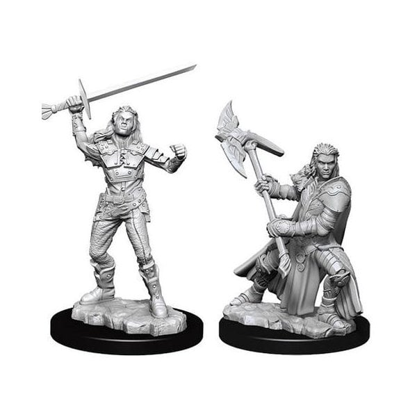 Female Half-Orc Fighter (D&D Nolzur's Marvelous Miniatures)