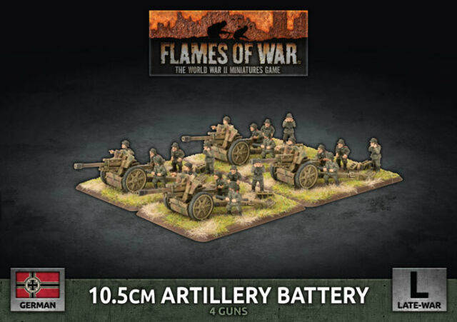 10.5cm Artillery Battery - Flames of War