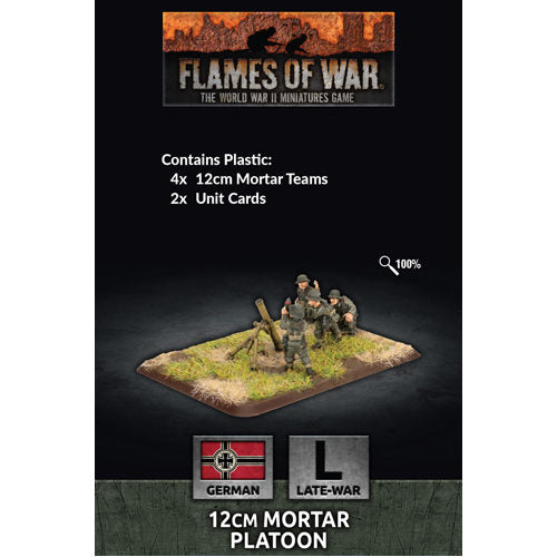 12cm Mortar Platoon - Flames of War