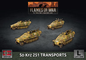 SD KFZ 251 Transports - Flames of War