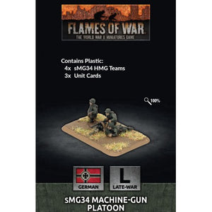 sMG34 Machine Gun Platoon - Flames of War