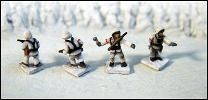 G521 WWII German Winter Individual Infantrymen