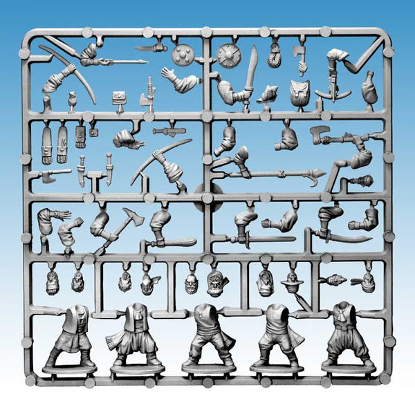 GHOST ARCHIPELAGO CREWMEN 'Frostgrave' Single Sprue