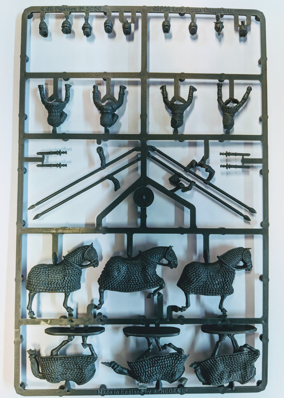 Gripping Beast Late Roman Cataphracts Sprue