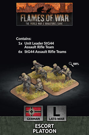 Escort Platoon (Plastic) - Flames of War