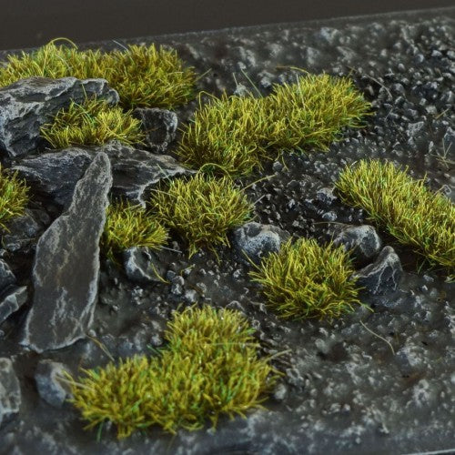 Gamer's Grass Gen II - 2mm Dark Moss Tufts Wild