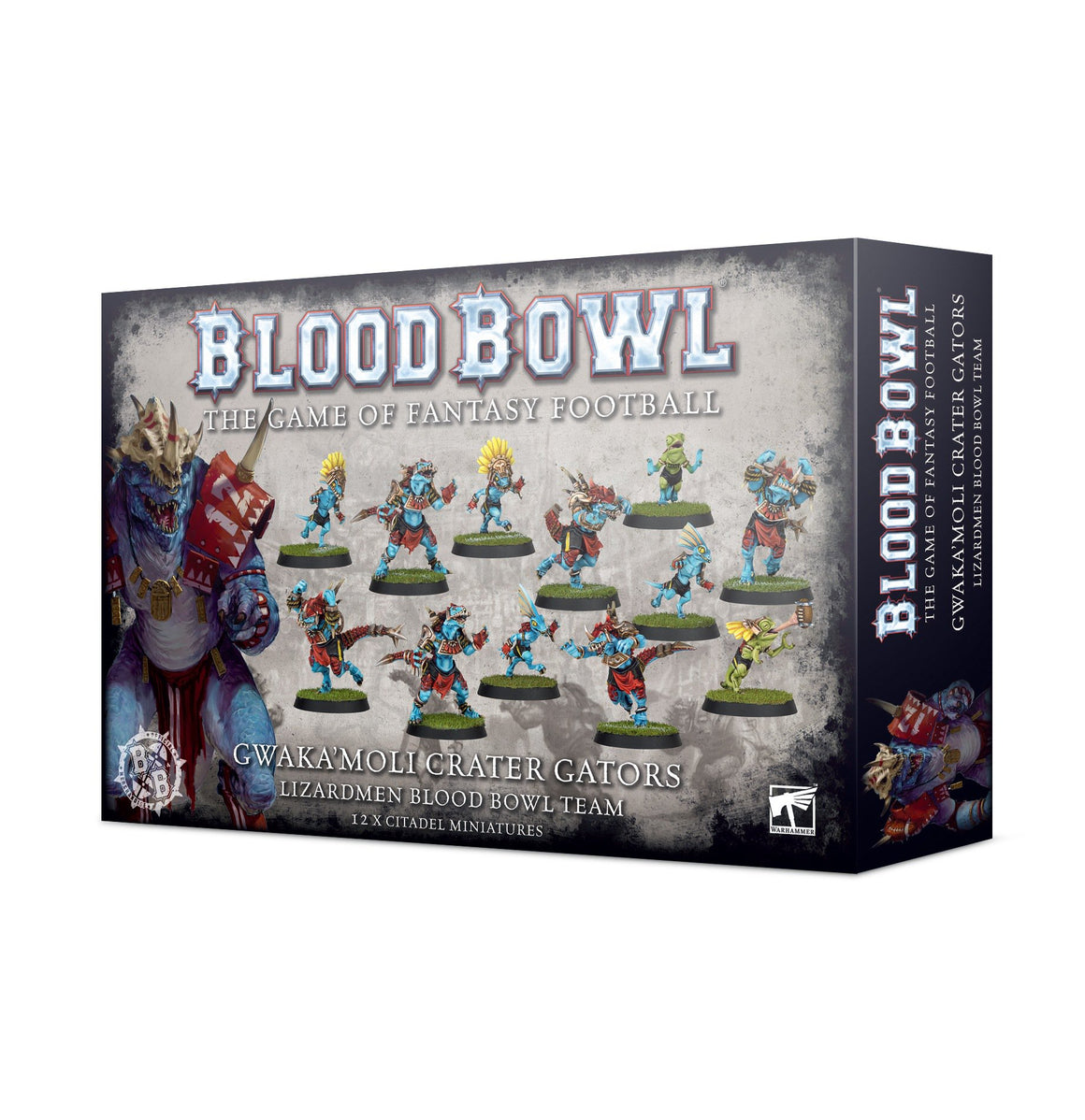 Blood Bowl - Gwaka'moli Crater Gators