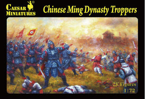 Caesar Miniatures CMH032 Chinese Ming Dynasty Troopers