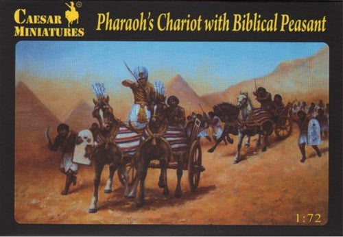 Caesar Miniatures CMH042 Pharaoh's Chariot With Biblical Peasant