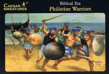 Caesar Miniatures CMH046 Biblical Philistine Warriors
