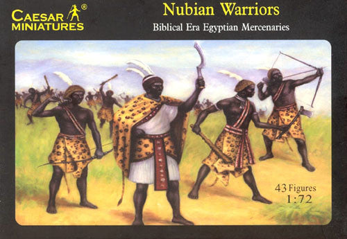 Caesar Miniatures CMH049 Egyptian Nubian Warriors