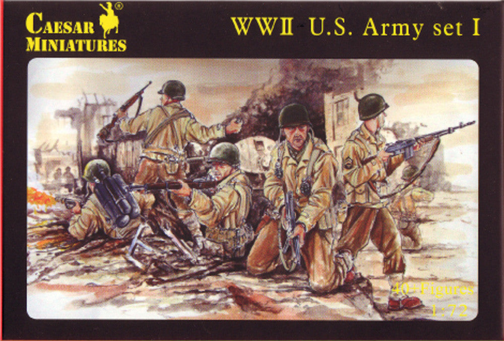 Caesar Miniatures CMH054 WWII US Army