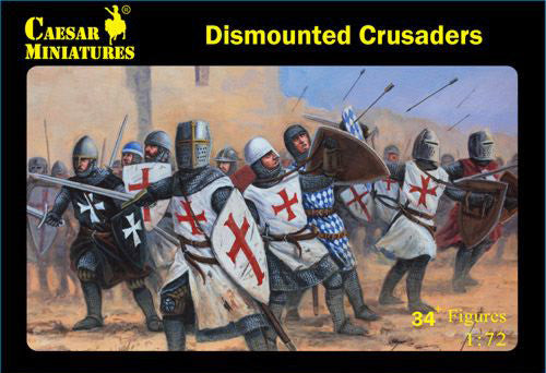 Caesar Miniatures CMH086 Dismounted Crusaders