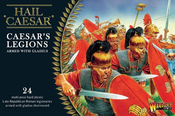 Hail Caesar - Caesar's Legions Armed with Gladius