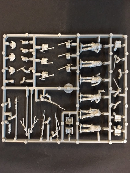 Perry Miniatures British Napoleonic Command sprue
