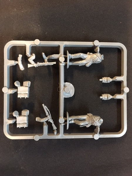 Perry Miniatures British Napoleonic Riflemen sprue
