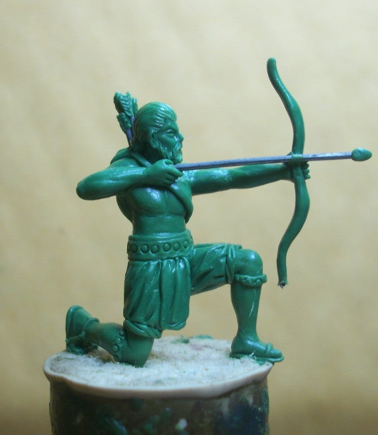 IND03 Indian Hindu Archer - kneeling