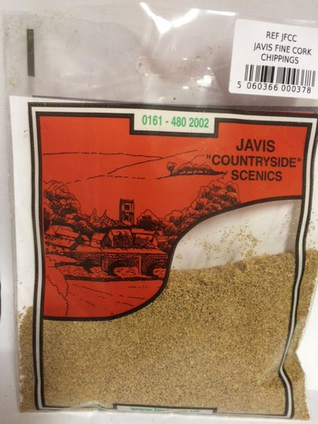 Javis Fine Cork Chippings (JFCC)