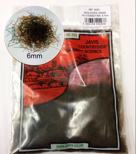 Javis 6mm Static Grass Forest Mix (JHG4)