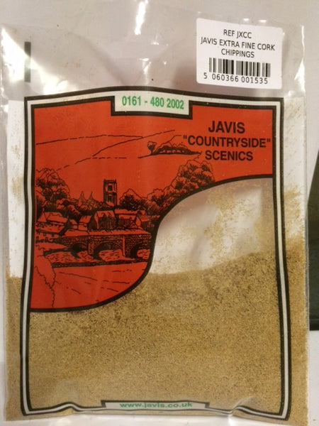Javis Extra Fine Cork Chippings (JXCC)