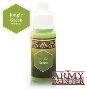 Army Painter Acrylic Warpaint - Jungle Green
