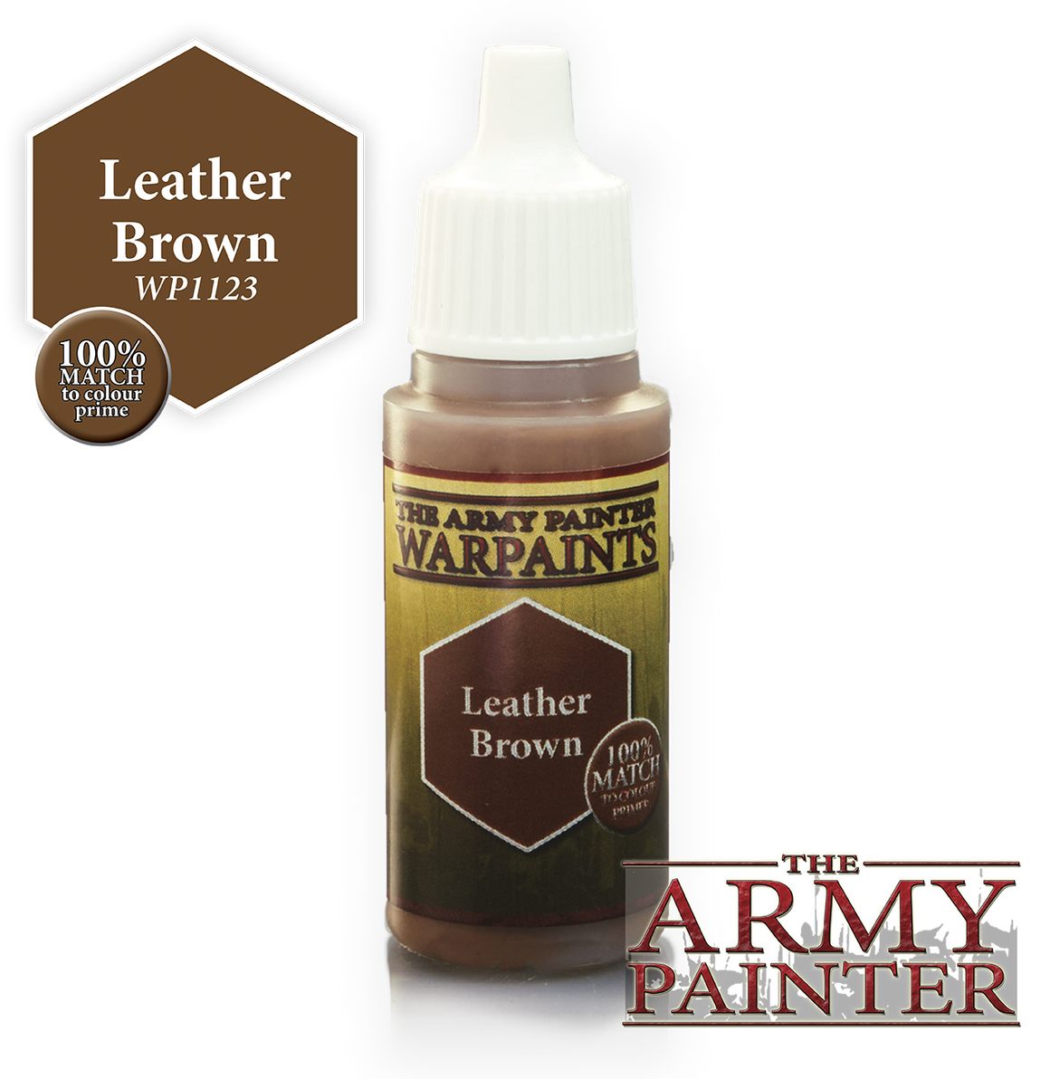 Army Painter Acrylic Warpaint - Leather Brown