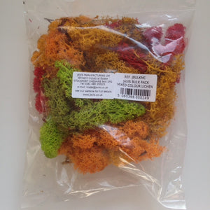 Javis Lichen Mixed Colours Bulk Pack (JBULKGMC)