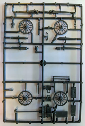 Perry Miniatures American Civil War Artillery Sprue