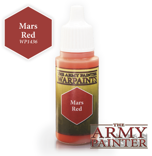 Army Painter Acrylic Warpaint - Mars Red