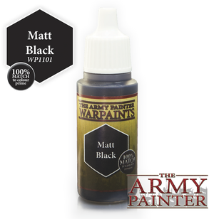 Army Painter Acrylic Warpaint - Matt Black