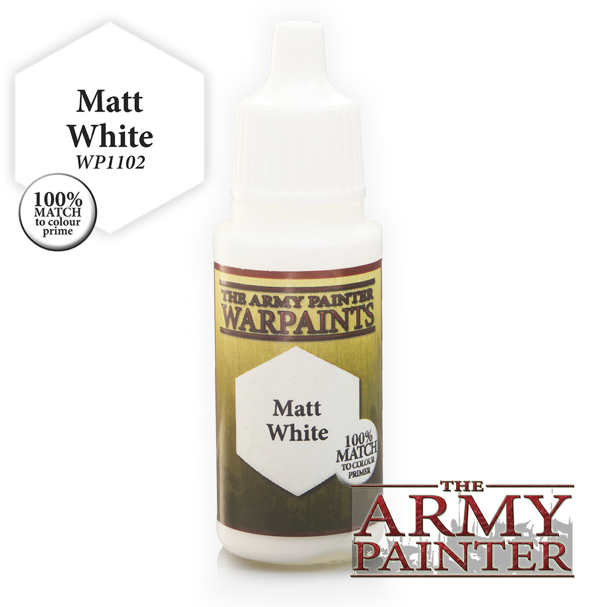 Army Painter Acrylic Warpaint - Matt White
