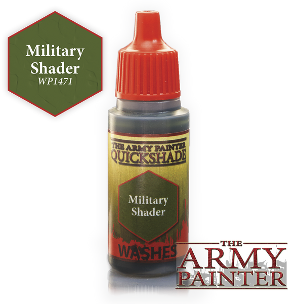 Army Painter Warpaint Wash - Military Shader